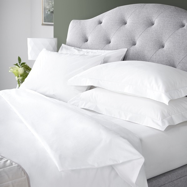 Hotel bedding, duvets and pillows from Out of Eden