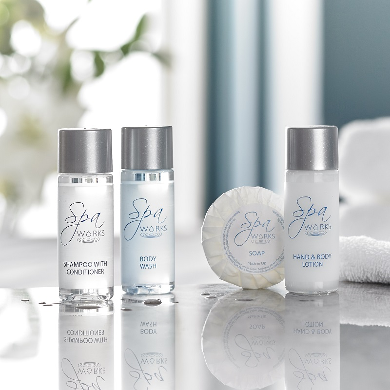 Hotel, guest house and self catering toiletries from Out of Eden