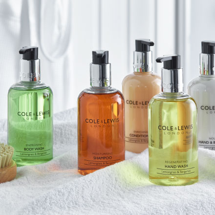Toiletries for hotels, guest houses and self catering from Out of Eden